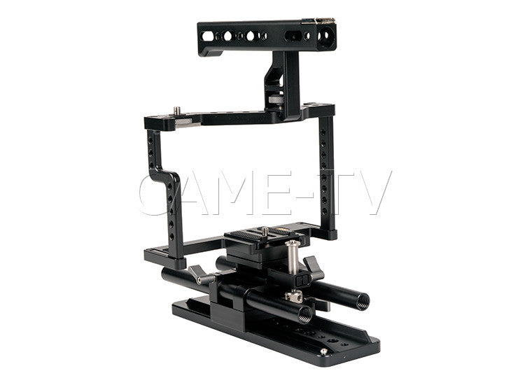 CAME-TV Guardian Cage For GH5 Camera Rig With Mattebox Follow Focus