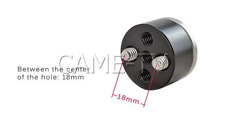 CAME-TV Rosette Adapter ARRI Compatible
