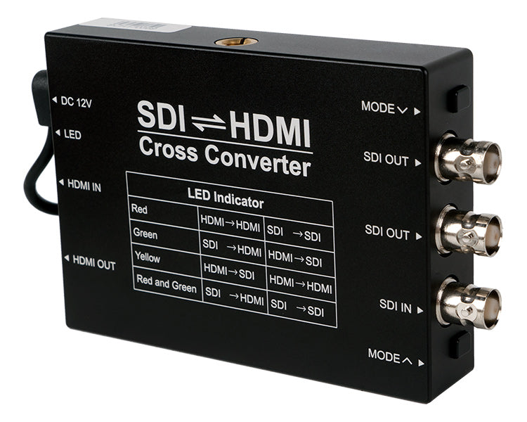 CAME-TV SDI HDMI Cross Converter