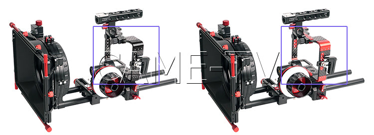 CAME-TV Sony A7 Series Cameras Rig Mattebox Follow Focus Kit