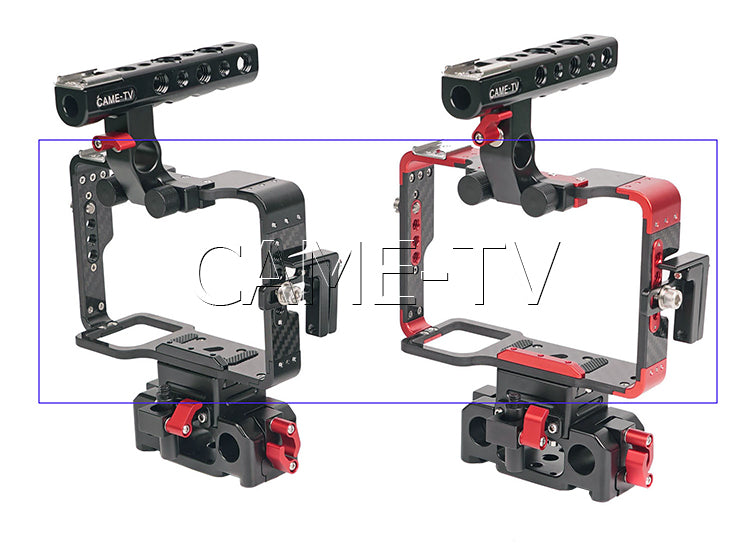 CAME-TV Sony A7 Series Cameras Rig With 15mm Rod Base