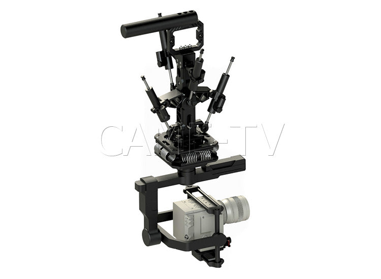 CAME-TV 18-66 Lbs Load Pro Camera Video Stabilizer Rod Mount