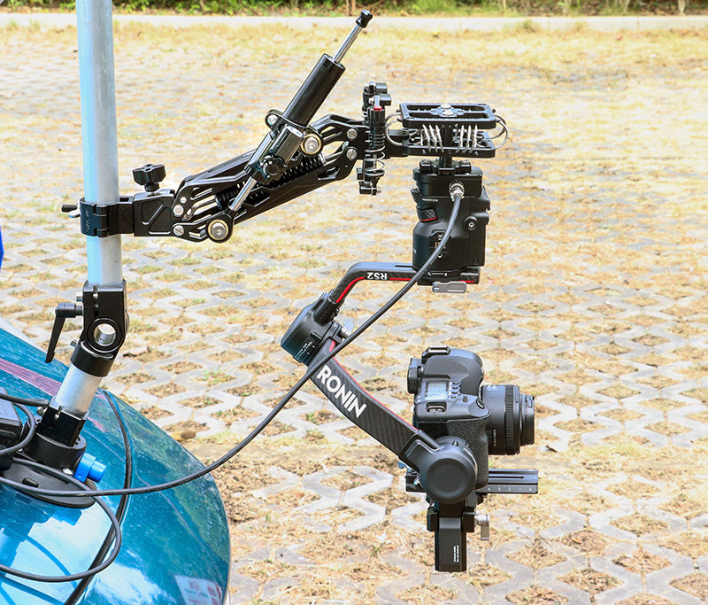 CAME-TV 2-22 Lbs Load Pro Camera Video Stabilizer Rod Mount GS10