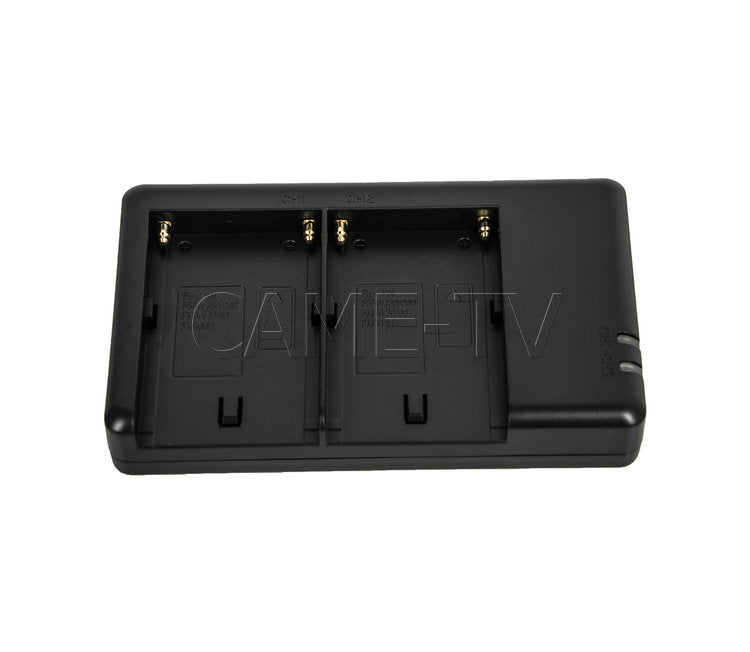 CAME-TV 2X CA-F970 Battery + FM50 USB Battery Charger + V-Mount Converter Plate Kit
