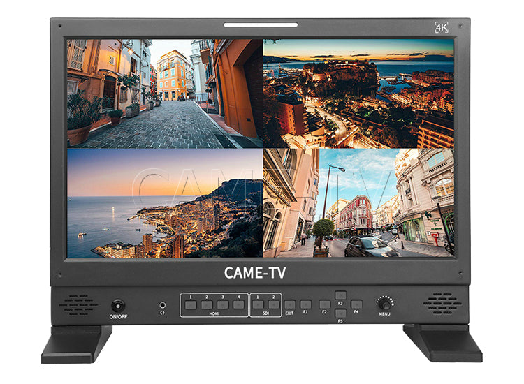 CAME-TV 4K HDR 17 Inch Monitor with HDMI and 3G-SDI