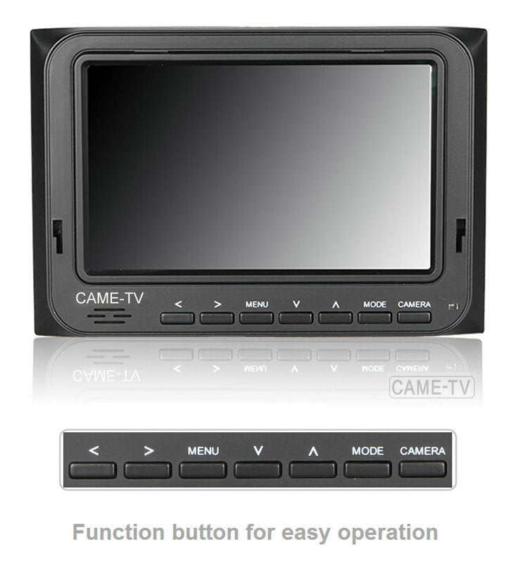 "CAME-TV 5"" 800*480 HDMI AV Field Monitor W/ Peaking Focus Assis"