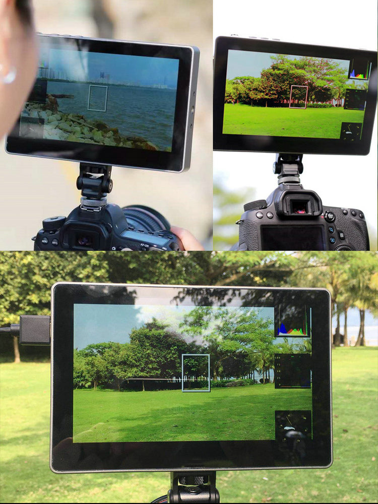 CAME_TV 7 Inch Touch Screen 4k HDMI On Camera Field Monitor
