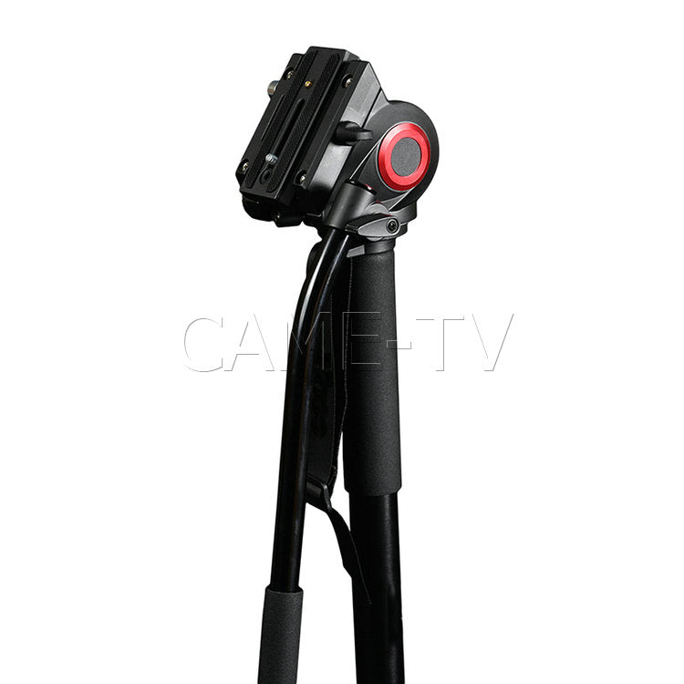 CAME-TV Aluminum Monopod With Pivoting Foot Stand