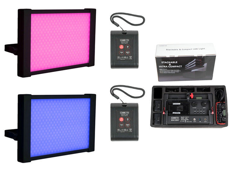 CAME-TV Boltzen Perseus RGBDT 55W Travel Lights That Are Stackable And Ready to Fly
