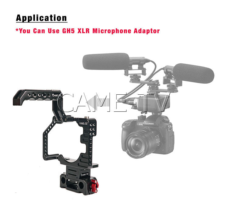 Protective Cage for GH5 Camera Rig