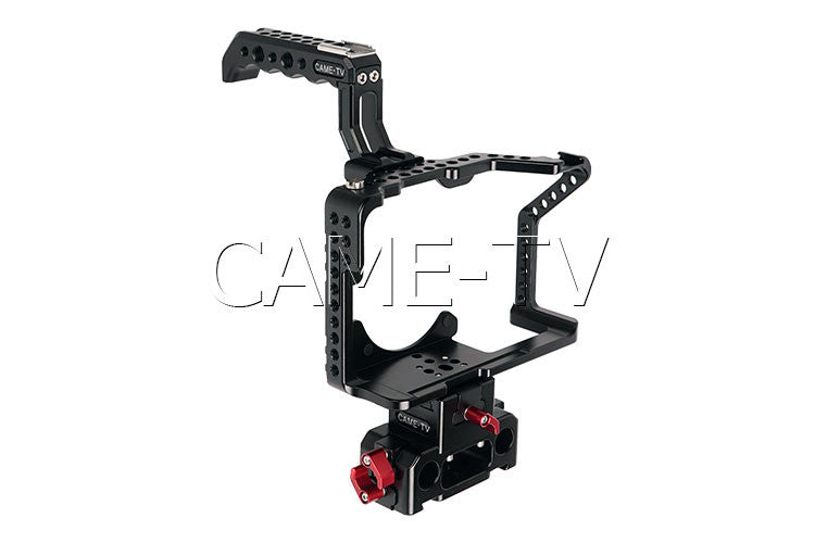 Protective Cage for GH5 Camera with Mattebox and Follow Focus