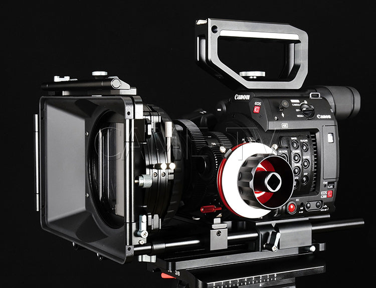 CAME-TV Canon EOS C200 Rig With Mattebox And Follow Focus