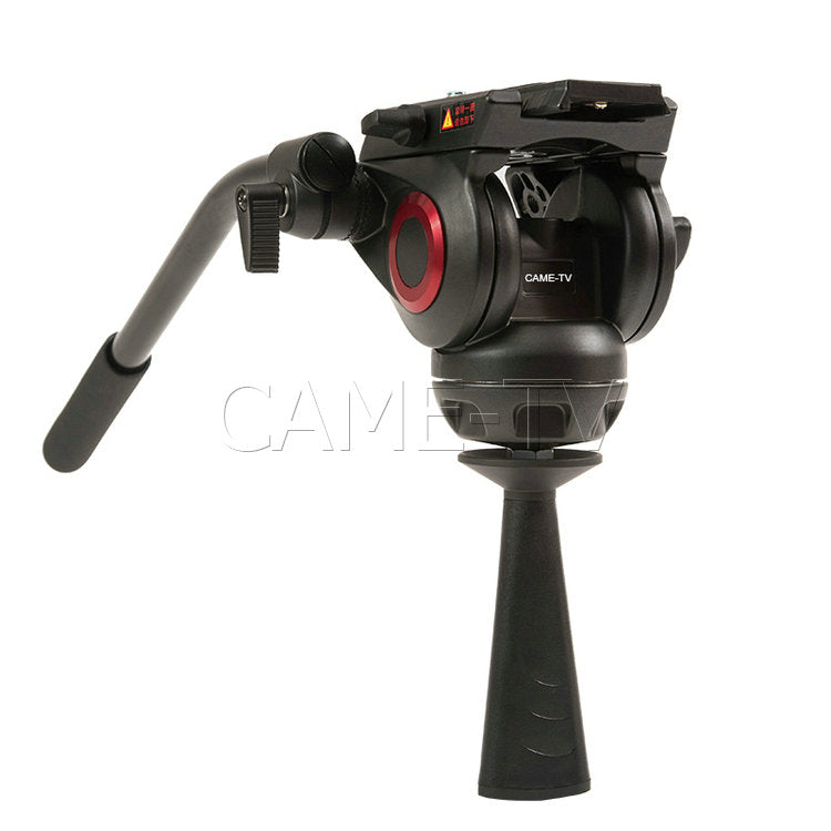 CAME-TV Carbon Fiber Tripod With Fluid Bowl Head Max Load 55 Lbs