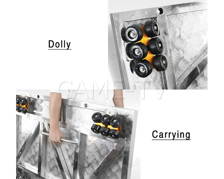 CAME-TV Dolly Platform System With Locking Tracks