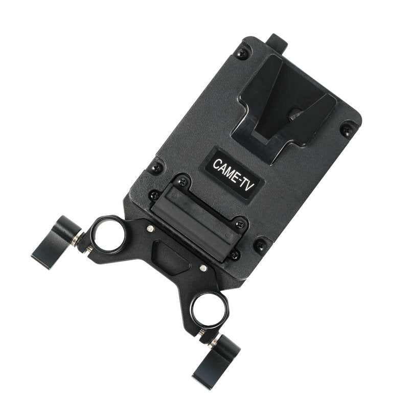 CAME-TV Mini V-Mount Plate with 2 D-tap Outputs