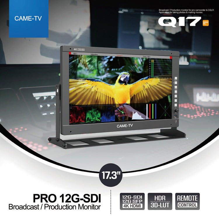 CAME-TV PRO 12G-SDI Broadcast/Production Monitor
