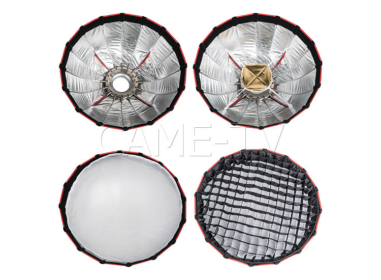 CAME-TV Softbox 60 with Grid and Bowens Speedring