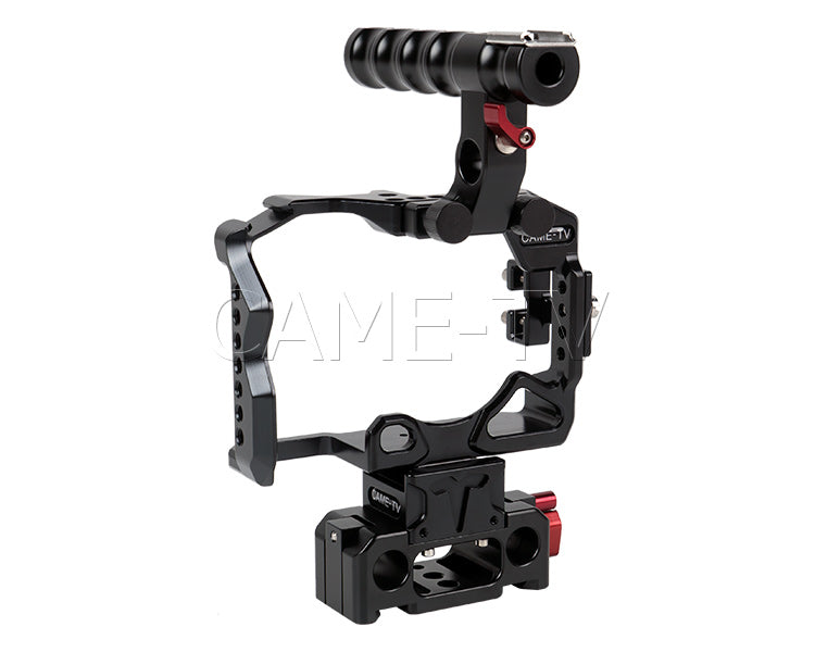 CAME-TV Sony A7RII Camera Rig 15mm Rod System