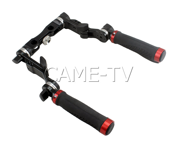 CAME-TV Universal Handle Grip With 6 Adjustment Connections