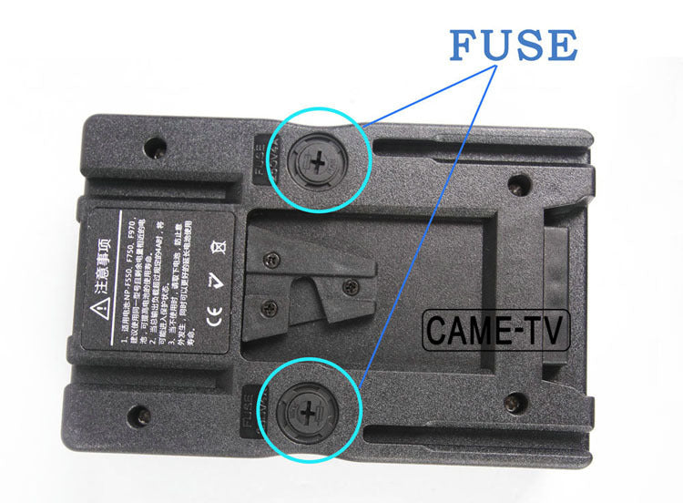 Video Light V-Mount Battery Converter Plate