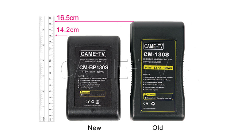 CAME-TV CM-Series V-Mount Li-ion Battery