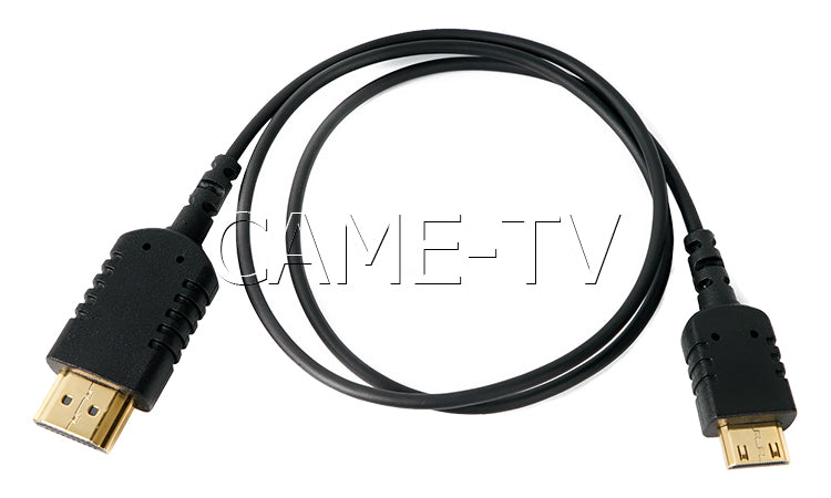 CAME-TV 2 Foot Ultra-Thin and Flexible HDMI Cable AC