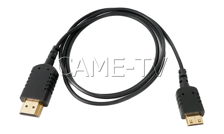 CAME-TV 3 Foot Ultra-Thin and Flexible HDMI Cable AC