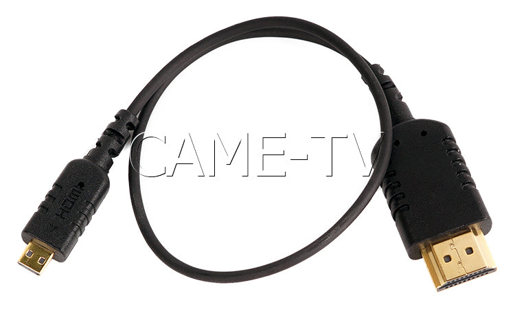 CAME-TV 1 Foot Ultra-Thin and Flexible HDMI Cable AD