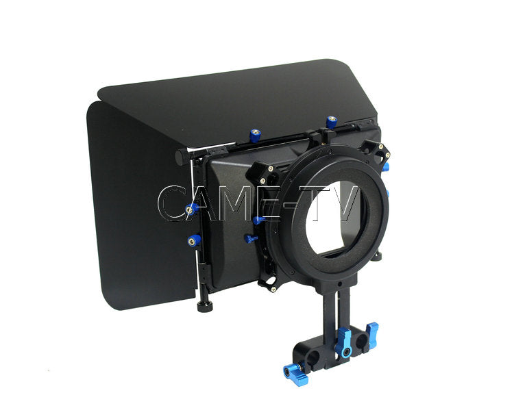 DSLR Mattebox 15mm Rod Adapter With Flag
