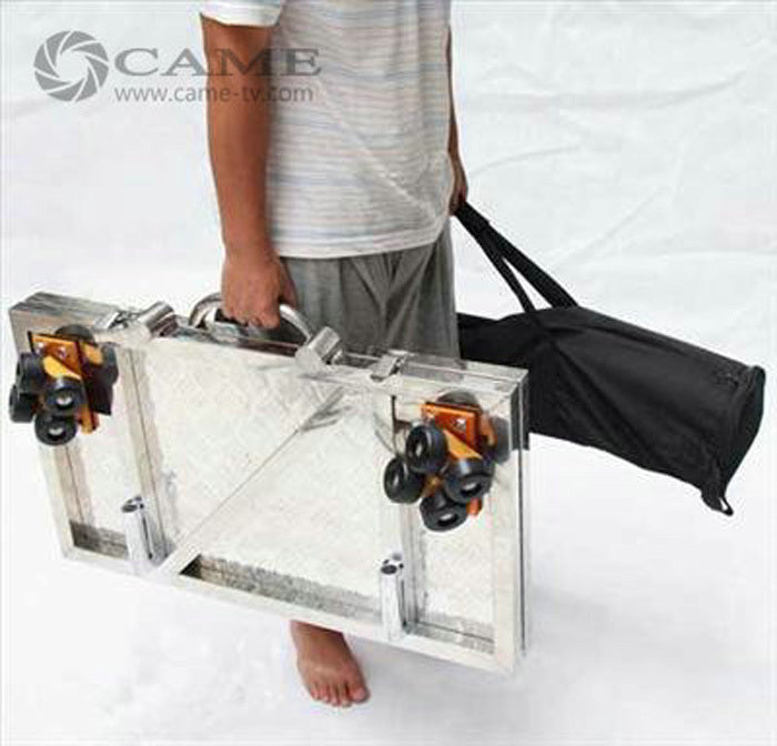 Portable Video Dolly Moving Car