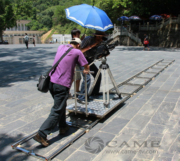 Portable Video Dolly Moving Track