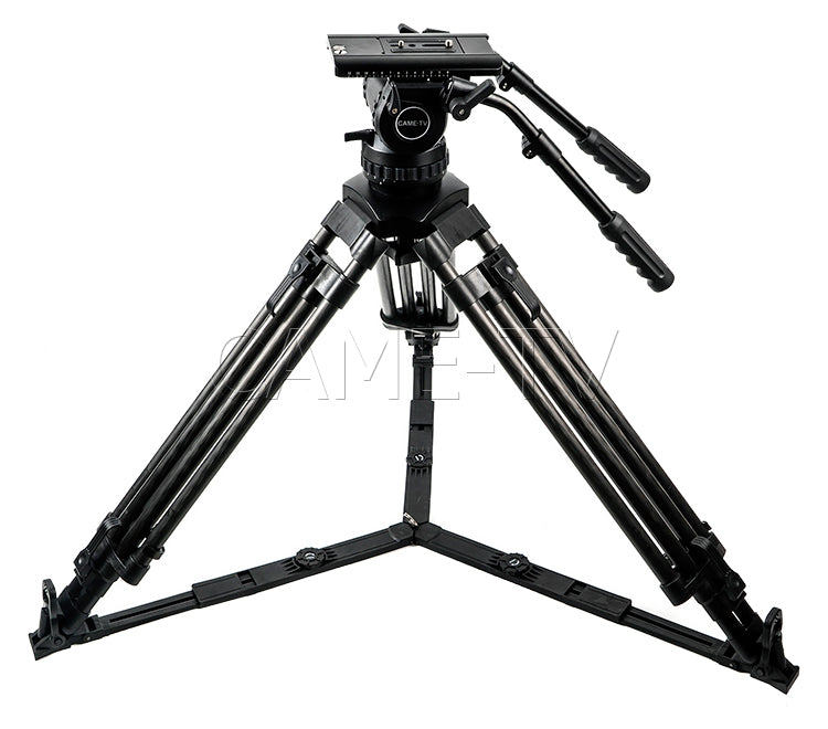 Professional Carbon Fiber Tripod With Fluid Head