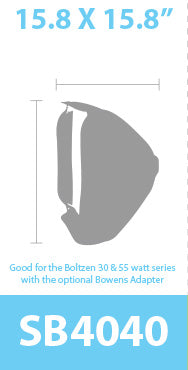 Foldable and Quick Set-Up Softbox For Boltzen Lights