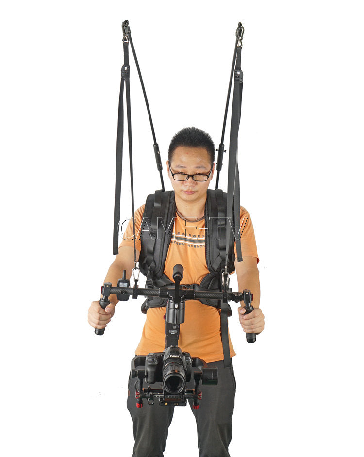 CAME-TV Twin Rod Carbon Fiber Gimbal Support