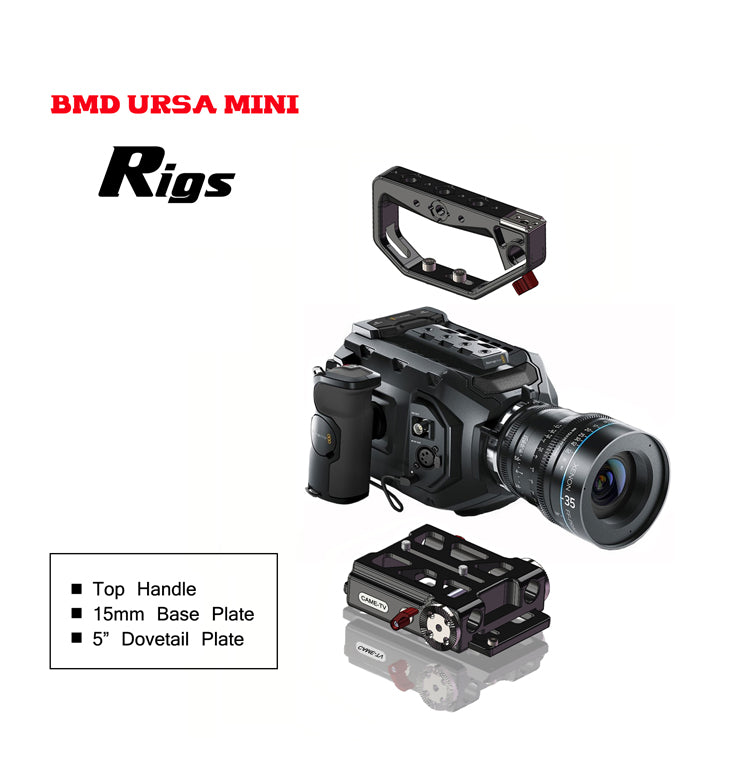 BlackMagic URSA Mini Rig Basic Kit