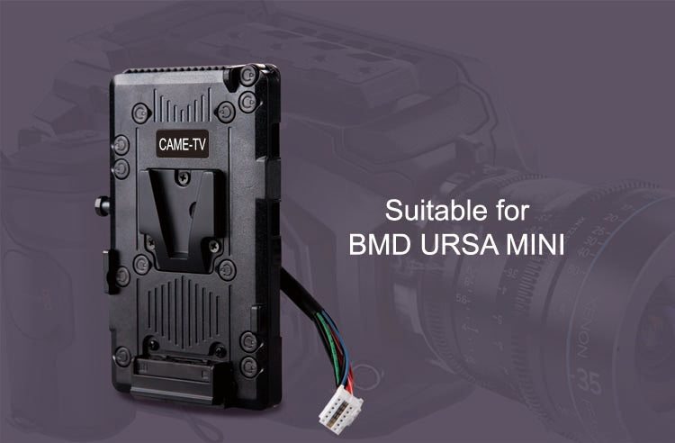 V-Mount Battery Plate For Ursa Mini