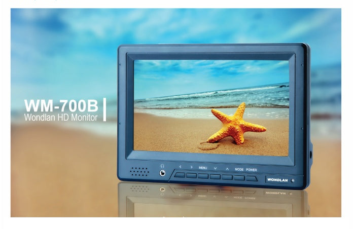Wondlan WM-700B 7 inch HD Screen Monitor