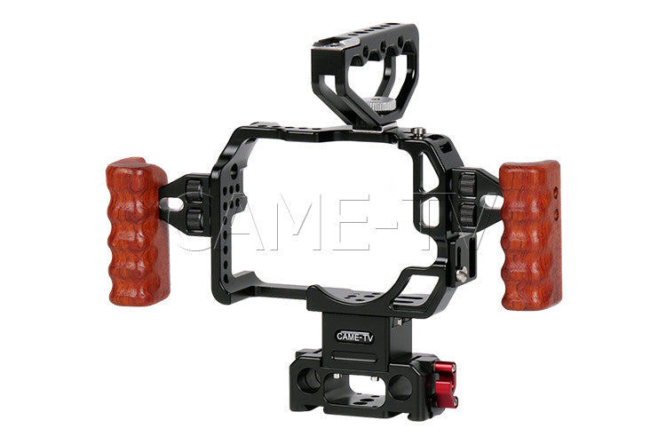 CAME-TV Protective Cage for 5D2, 5D3, 5D4 Camera Rig with Handle