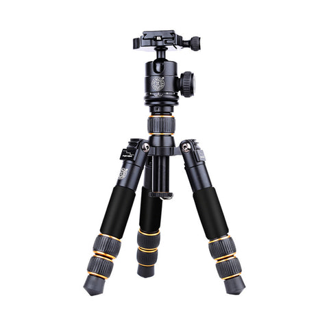 CAME-TV Portable 7.8 Inches Mini Tripod with Ball Head