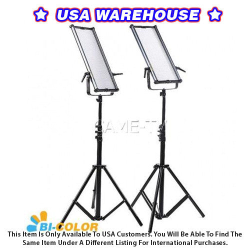 1092B Bi-Color LED Panels (2 Piece Set) - USA Warehouse