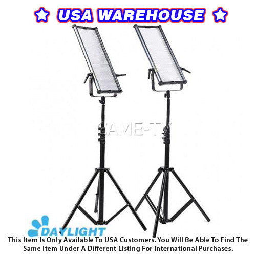 1092D Daylight LED Panels (2 Piece Set) - USA Warehouse