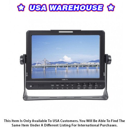 CAME-MT02 10.1 Inch IPS 1280x800 Monitor With Focus Peaking - USA Warehouse