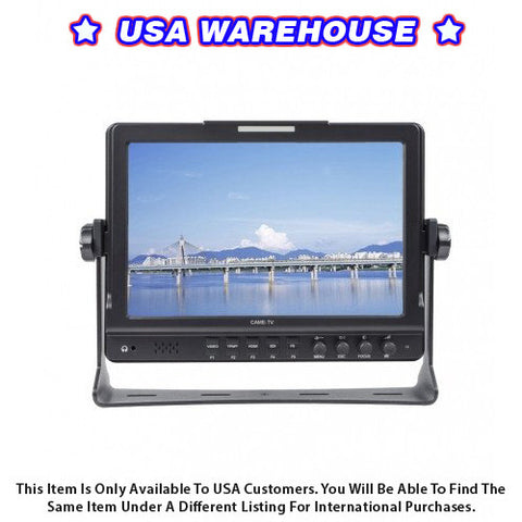 10.1 Inch IPS 1280x800 Monitor With Focus Peaking - USA Warehouse