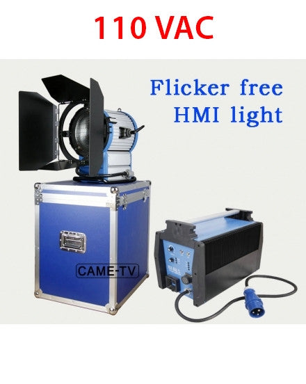 110V CAME-TV 2500W HMI Fresnel Light +2.54KW Electronic Ballast