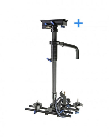 CAME 2.5-15kg DSLR Camera Steadicam Carbon Fiber Stabilizer