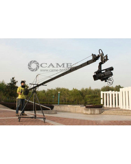 15.8ft Pan Tilt Head 5 Kilo Camera Crane Jib Arm Jibs Video LCD