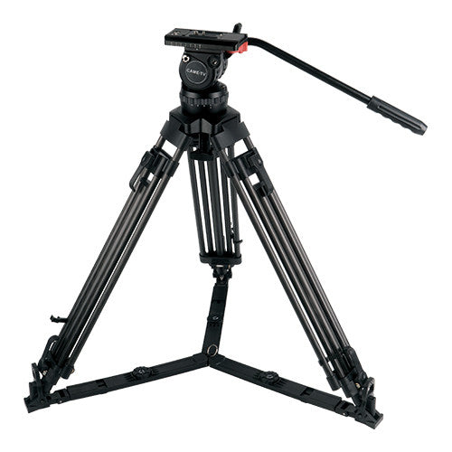 CAME-15T Pro Carbon Tripod For RED EPIC Cage DSLR Rigs Payload 26 Lbs