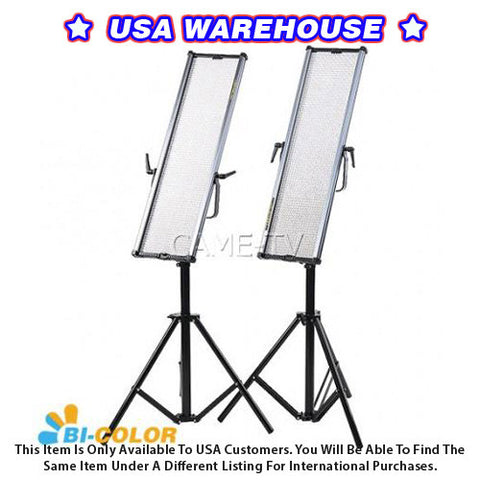 1806B Bi-Color LED Panels (2 Piece Set) - USA Warehouse