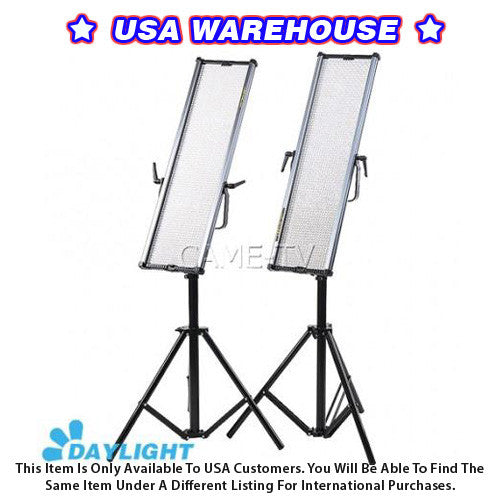 1806D Daylight LED Panels (2 Piece Set) - USA Warehouse