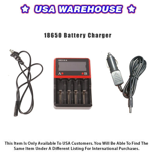 18650 Battery Charger for ARGO, PRODIGY, or MINI3 Gimbal - USA Warehouse